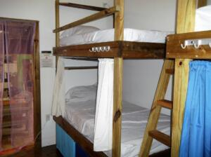 dormitory- 2 rooms with 8 beds in each room